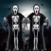 хэллоуин Cosplay косплей   костюм  костюм на хэллоуин скелет призрак одежду аксессуары для косплея neko cosplay