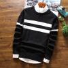 Мужской свитер круглый шею весна и осень новая линия одежда мужской свитер тонкий раздел Тонкий свитер мужская одежда одежда