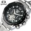 Мужские часы Лучшие бренды Роскошные автоматические часы Черный календарь Часы Мужские механические часы часы tokyobay