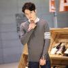 2017 новый мужской свитер случайный свитер свитер свитер шеи свитер в качестве подарка для мужчин корея корейский леди осень зима новый стиль v шеи вест свитер свитер свитер жилет женщин