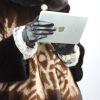 -сенсорный экранкролика волосылайковые перчатки