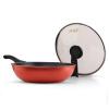 технология [супермаркет] Jingdong бурения (ZUANJ) импорт антипригарной сковородки 30CM нет испарений не допускающего пригорание вок плиты Универсального ZJ-DMW30 сковородки