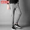 Штаны для брюк с бриллиантовыми футлярами Брюки мужские Брюки повседневные Брюки мужские Брюки мужские 17095ZTX707 Серый 4XL