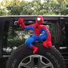 Китай Бэтмен Автомобиль Куклы Автомобиль Стикер Кукла Автомобиль Кукла Кукла Автомобиль Кукла Автомобиль Куклы Автомобильные аксессуары Бэтмен (серый) Высота 40 см