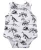 новорожденного девочка одежда динозавров хлопок боди комбинезон наряды ас