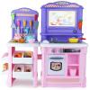 Bain Ши (beiens) детские развивающие игрушки ролевые девочки играют дома кухня игровые наборы BL-101A Принцесса порошок 70 игровые наборы moose игровой набор шопкинс кулинарный клуб кухня мебель