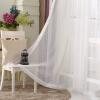 Современные полосатые тюлевые занавески для гостиной Окно Скрининг Voile Sheer Curtains для гостиной Спальня Детские шторы для гостиной