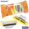 Giulietta Brand Razor Blade For Men 4 Pieces Stainless Steel Blade Affordable Material D3-3 giulietta юбка до колена
