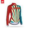 NUCKILY Женская горная велосипедная одежда с длинным рукавом Сублимация печатных Велоспорт Джерси весной / осенью