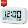 Digital Alarm Clock Student LCD Display Snooze Kids Clock Light Sensor Calendar Temperature Date Nightlight Office Table Clock bag khs075vg1ba g83 38 29 lcd calendar
