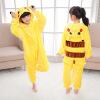 где купить детей  Pokemon Pikachu пикачу  теплый мягкий Cosplay пижама хэллоуин костюмы по лучшей цене