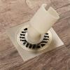 HIDEEP Ванные принадлежности Квадрат круглый зеленая бронза материал ванная Земельный дренаж hideep ванные принадлежности зеленая бронза фильтр для душа ванная напольные стоки