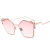 дешевые негабаритные солнцезащитные очки женщины квадратные белые черные большие женские солнцезащитные очки женские 2018 uv400 старинный полигон солнцезащитные очки женщины бренд-дизайнер металлический розовый модные солнцезащитные очки женские uv400