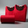 Палладио термобелия для мужчин и женщины такси толстых бархатного костюма мужчин и г-ж Qiuyiqiuku немецкой мужской кашемировой тепловой комплекты белья - Magenta L комплекты белья