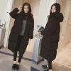 Женское пальто из хлопчатобумажного пальто - пальто с длинным рукавом с рукавом с капюшоном с капюшоном пальто с капюшоном