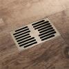 HIDEEP Ванные принадлежности Зеленая бронза прямоугольник ванная напольные стоки hideep ванные принадлежности квадратный зеленая бронза ванная земельный дренажй душевая кабина