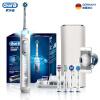 Braun Oral B iBrush9000 Plus 3D Sonic Bluetooth smart электрическая зубная щетка (белый) зубная электрощетка braun oral b vitality 3d white luxe d12 513w