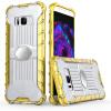 GANGXUN Чехол для Samsung Galaxy S8 Легкий защитный 2 в 1 Корпус для Samsung Galaxy S8 камуфляжный защитный чехол дляsamsung galaxy s5