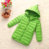 Girls Winter Light White Down Coat Kids Jacket Hooded Long Sections Children Clothes Receive Warm Parka Outerwear Snowsuit TZ148 winter jacket women 2017 fashion slim long cotton padded hooded jacket parka female wadded jacket outerwear winter coat women