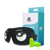 Код топ очки класса затенение очки сна дышащие затычки модели 3D комфорт + шум сна (2) глупый сладкий белый 3d очки