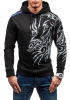 Brand 2017 Hoodie Dragon Simple Hoodies Men Fashion Tracksuit Male Sweatshirt Off White Hoody Mens Purpose Tour XXXL bigbang 2013 g dragon world tour live