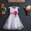 Волк (canis@ребенком девочек Принцесса туту платье формальных белое партия