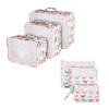 6 Набор пакетов для путешествий, водонепроницаемые аксессуары для путешествий по сетке Carryon Dirty Laundry водонепроницаемые телефонные кабели для путешествий