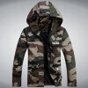 Winter Men Jacket 2017 Brand Casual New Solid Color Camouflage Mens Jackets And Coats Thick Parka Men Outwear