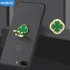 Moqi Si (Mokis) счастливый клевер кольцо пряжки металлические стенты держатель телефона подставка настольная подставка ленивым телефон таблетки универсальный кронштейн зеленый