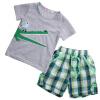ребенок детей одежду мальчика с коротким рукавом максимум футболку штаны летом наряды 2pcs комплекс