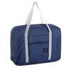 все цены на Travel Duffel Bag Водонепроницаемый складной багажник Организатор Праздничный тренажерный зал Ночная одежда Сумка для хранения баг онлайн