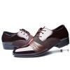 новые  2017 мужская мода  кожа оксфорд обувь досугквартир бизнес туфли обувь