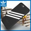 Adidas (Адидас) Яблоко 7P \ 8Plus приливная волна бренд мобильного телефона оболочки три бара классической мужской ТПУ все включено мягкой оболочки Выдерживает падение защитный рукав черный и белый женщина все для бара
