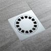 HIDEEP ванные принадлежности Чистая латунь Квадратный круглый Большой поток душ утечка пола hideep ванные принадлежности чистая латунь материал утечка пола применимо ванная、 туалет、 кухня