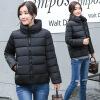 2017 зима новый корейский случайный носить толстый хлопок куртка воротник пуховик куртка куртка куртка короткая куртка куртка