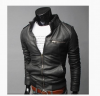 2017 Brand Man Zipper Leather Jackets PU Classic Jaqueta Masculinas Inverno Couro Jacket Men Black Motorcycle Leather Jacket duhan motocross off road racing jacket motorcycle jackets body armor protective moto jacket motorbike windproof jaqueta clothing