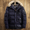 Мужская хлопчатобумажная куртка мужская длинная мужская одежда крупногабаритная хлопчатобумажная одежда
