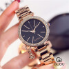 GUOU Роскошный горный хрусталь часы Женские часы Женские часы Женщины Ретро часы