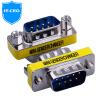 IT-директор-DB9 контактный последовательный кабель адаптера хорошо известны COM-линии порт данных RS232 головки девять передачи вращая иглу против иглы 9 для 9-контактного разъема Y2DB9-2C кабель com rs 232 1 8m 9f 9f greenconnect premium gc db9cm2m 1 8m