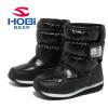 HOBIBEAR детская обувь сапоги для девочек водонепроницаемый тепло Антипробуксовочная снегоступы детские A757