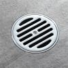 HIDEEP Ванные принадлежности Большой поток Чистая латунь душ утечка пола hideep дренажи для пола чистое латунь квадратное перекрытие большая панель дренажи для пола