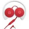 все цены на Hewlett-Packard (HP) H2800 встроенный микрофон гарнитуры телефон гарнитуры проводные гарнитуры компьютера плоский красный онлайн