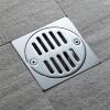 HIDEEP Ванные принадлежности Чистая латунь материал утечка пола Применимо ванная、 туалет、 кухня hideep дренажи для пола чистое латунь квадратное перекрытие большая панель дренажи для пола