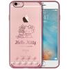 Hello Kitty Apple, 6 / 6с телефона оболочка iPhone6 / 6с мультфильм прозрачная Выдерживает падение защитного рукава оболочка покрытия 4,7 дюйма контроля бабочки apple чехол iphone6 5s 4s 5c hello kitty
