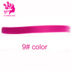 Fashion hair extension for women Long Synthetic Clip In Extensions Straight Hair piece Party Highlight Punk Cosplay Colorful
