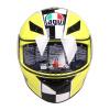 AGV K3 TOP шлем мужской и женский шлем анфас бежать шлем езды шлем итальянский мотоцикл гоночный желтый корону 8 XL