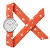 This new mu (MOOSIE) watch Lady seven beautiful cloth strap quartz watch geparlys beautiful lady