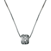Luo Linglong s925 sterling silver necklace chain clavicle mountain transport beads simple fashion personality wild couple gift luo linglong s925 sterling silver necklace pendant butterfly necklace jewelry anti allergic simple temperament personality fresh