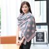 Shanghai Story (история SHANGHAI) г-жа теплые осенние и зимние шарфы кашемир платок улыбка синий цена 2017
