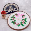 шитье DIY DMC наборы для вышивания комплектывенокпрямых производителей наборы для вышивания zengana набор для изготовления открытки с сыночком